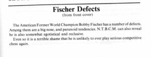 Fischer Defects