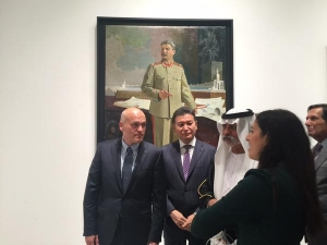 Kirsan with Stalin