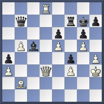 Botvinnik v Capablanca 1936 after 36 Bc5