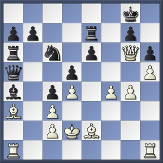 Smyslov v Botvinnik 1944 after 29 Ba3
